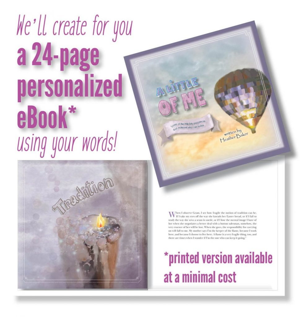 sample of FREE little of me ebook